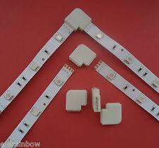 RGB L Verbinder Steck- Eck- Verbinder Winkel für RGB SMD 5050 LED Strip Streifen