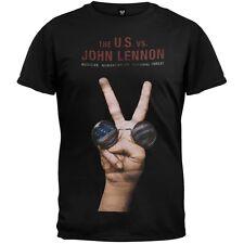 John Lennon - U.S. vs. Adult Mens T-Shirt