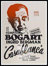 Casablanca 10 cartel mayor películas clásicos películas & Vintage