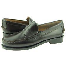 Daniele Lepori Dress Penny Loafers, Men's Slip-on Shoes, Italy, T.Moro 8-13US