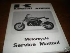 1988 Kawasaki KX80 Service Repair Shop Manual