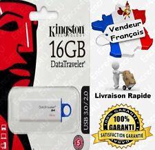Clé USB 3.0 KINGSTON 16 Gb Go DataTraveler G4 ( Dispo aussi en 8 32 ou 64 Giga )