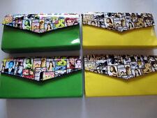 Magazine Clutch Trendy Ladies Envelope Purse Handbag Color Fashion Wallet