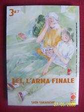 LEI  L'ARMA FINALE - N°3 -MANGA PANINI- ESAURITO- NUOVO - DISPONBILI N°1/7-TUTTI