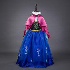 Frozen Vestito Carnevale Maschera Anna Girl Dress up Costume 789002B - CL