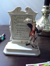 Vintage 1981 Sebastian Miniature Figurine Sebastion Studios Plaque