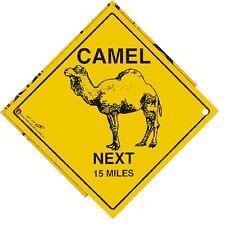 signo de 16,5cm Coche Señal Advertencia CON TAZAS Camello Next 15 Miles 309121