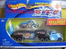 HOT WHEELS PAVEMENT POUNDER MOTO SCORCHIN'SCOOTER BLEU 2000 MATTEL # 89346