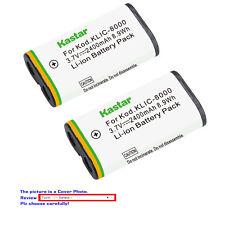 Kastar Replacement Battery for Kodak KLIC-8000 & Kodak Z712 IS Kodak Z812 IS