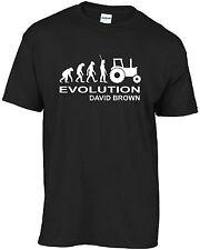 Tractor - Evolution David Brown - t-shirt