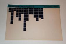 Microfich Ersatzteilkatalog Vespa Mofa bravo Stand 04/1982