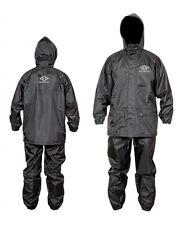 Motorcycle Rain Suit 100% Water Proof Rain Wet Weather Pants Jacket 2 PC Suits