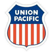 Union Pacific Sticker USA MADE Railroad TRAIN Decal R19