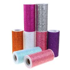 Glitter Confetti Mesh Roll, 6-Inch, 10 Yards