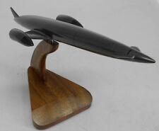 Skylon Experimental Space Plane Spacecraft Mahogany Dried Wood Model Small New