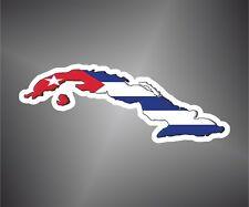 adesivo bandiera havana Cuba flag sticker autocollant pegatina aufkleber