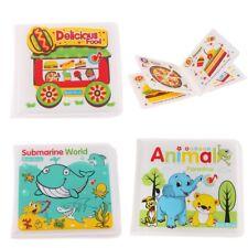 Baby Bath Books Floating Waterproof Alphabet Book Bath Time Educational Toys