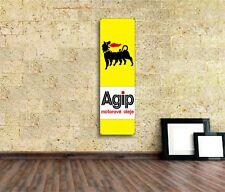 Agip Oil Sign Vinyl Banner Flag Garage Workshop Adversting F1 Motorsport Auto