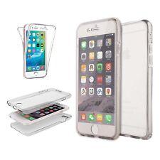 Funda Protección completa Transparente Frontal Y TRASERO Side para Apple iPhone