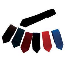 Zeco uniforme escolar para Hombres Chicos Formal Lazos Azul Marino Negro Real Rojo Botella Marrón
