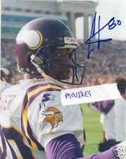 Cris Carter Minnesota Vikings Autographed Signed 8x10 Photo 8 COA HOF