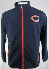 Chicago Bears NFL Majestic Men's Full-Zip Fleece Jacket