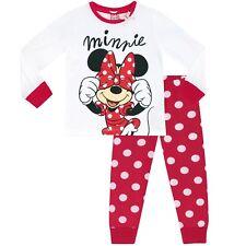 Girls Minnie Mouse Pyjamas   Disney Minnie Mouse Pjs   Minnie Pyjama Set   NEW