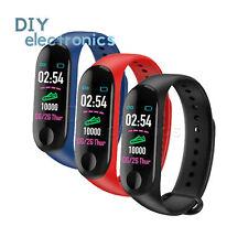 M3s Plus watch Heart Rate Monitor Pedometer Fitness Tracker Smart Bracelet US