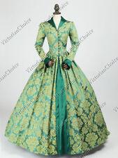 Renaissance Queen Elizabeth I / Tudor Holiday Jacquard Gown Dress Clothing 162