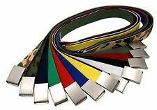 Men's Military Web Canvas Buckle Belt Tactical Waistband Waist Belts US Location