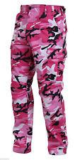 Military PINK Camouflage BDU Cargo Pants Army Fatigue Tactical Combat Camo Pants