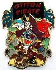 STITCH INVASION series 3/13 PIRATES CARIBBEAN Disney PARIS DLRP DLP LE 2005 PIN