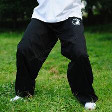 Cotton Kung Fu Tai chi martial arts Pants Wing chun Training Trousers Men black
