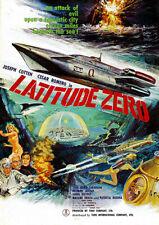 188667 Latitude Zero 1969 Movie Print Poster Affiche