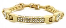 14k Gold / White Gold Iced Out OGangtar CZ Bracelet for Men's Bling Out 509+Gift