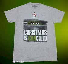 New Sesame Street Oscar the Grouch Christmas Vintage Mens T-Shirt
