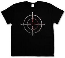 Bloody Crosshairs SNIPER T-SHIRT-puntatori a croce cecchino GUN RIFLE target US