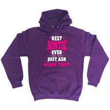 Funny Hoodie Best Auntie Ask Your Text Birthday Joke tee Gift Novelty HOODY