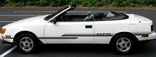 1987 Toyota Celica GTS Stripes Graphics Decals