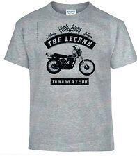 T-SHIRT, YAMAHA XT 500 , bicicleta, MOTO, Oldtimer, youngtimer