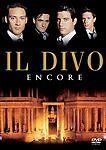 Il Divo - Encore (DVD, 2006) Performance set at Teatro Romano de Merida Spain