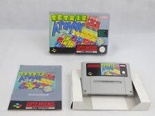 Tetris Attack Super Nintendo SNES Boxed PAL
