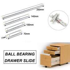 Pair of Drawer Runners / Slides Full Extension 70-300mm Ball Bearing Runner
