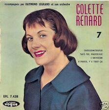 EP 4 TITRES--COLETTE RENARD VOL 7--CROQUEMITOUFLE