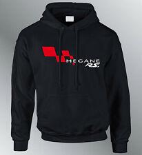 Sweat shirt Hoodie personnalise Megane RS M L XL auto capuche sweatshirt Mégane