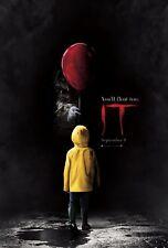 It 2017 S. King Horror Movie Film Poster A0-A1-A2-A3-A4-A5-A6-MAXI 489