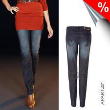 Biker-Jeans, Apart. Dunkelblau denim. Kurz-Gr. NEU!!! KP 69,90 € %SALE%