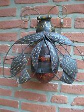 Windlicht Biene,Metall,35x20cm,Imkerei,Imker,Deko,Bee,Bienen