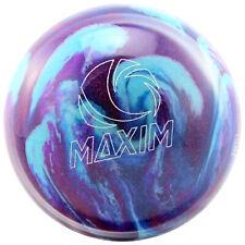 Bowling Ball Ebonite Maxim Purple Royal Silver Bowling Ball for Spare and Strike