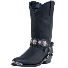 Dingo Western Boots Mens Suiter Harness Fashion Toe Black DI02175